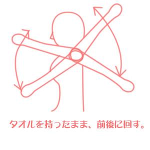 肩のストレッチ方法